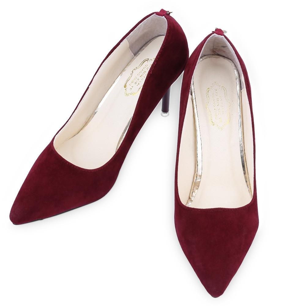 2016 Hot OL Style Sexy Red Bottom Pointed Toe High Thin Heels Shoes For Ladies Brand Women Summer Pumps Shoes Women's Pumps Tan Trendy Store Store- upcube