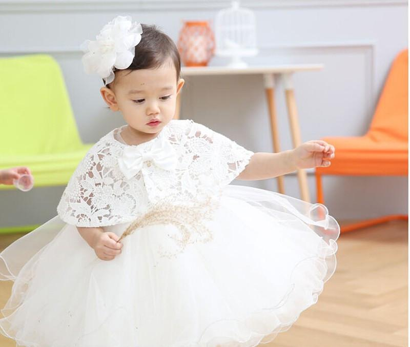 2016 Hot Sale Baby Birthday Party Kids Dress Baby Girl Christening ...