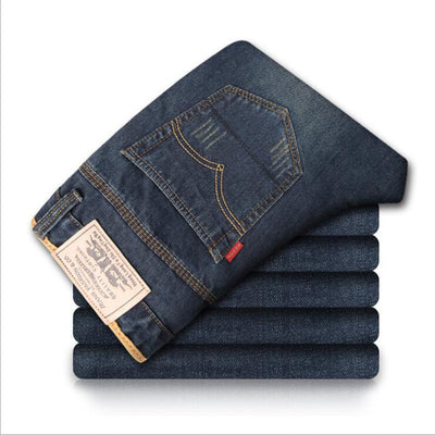 Jeans - 2016 high quality Retro Teenage Men Jeans Slim Straight Pants Spring and summer Casual Loose Pants Brand biker jeans Streetwear -   jetcube