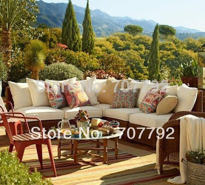 2017 All-Weather outdoor furniture rattan victorian sectional sofa Outdoor Furniture Jinhua Sigma Industrial & Trading Co., Ltd.- upcube