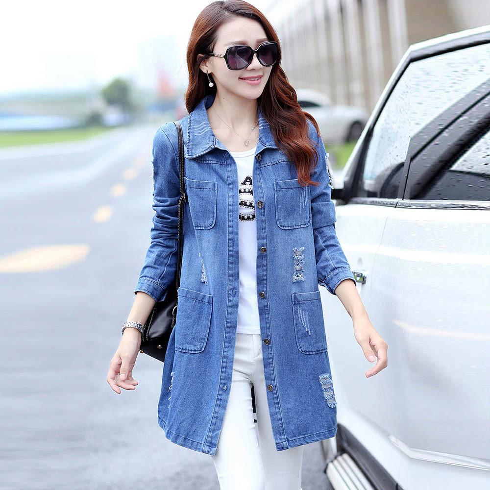 d3355ab8fa6 Womens Plus Size Long Sleeve Chambray Shirt - BCD Tofu House