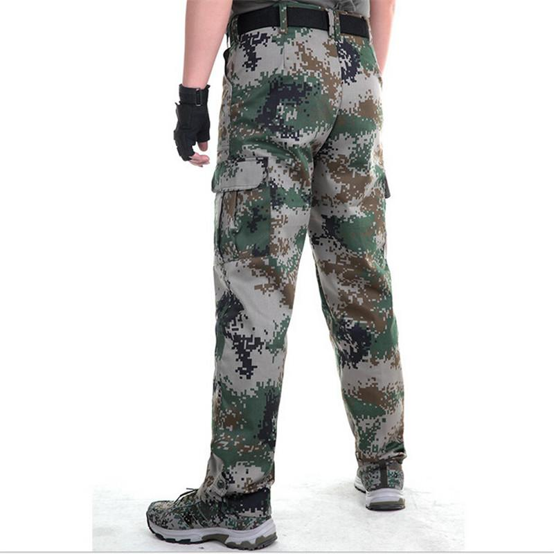 2017 Autumn Tactical army Green military pants men's sweatpants trousers casual clothing male overalls men working pants outwear