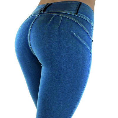 2017 Autumn and Winter Women's Leggings Fitness High Waist Elastic Women Leggings Legging Pants WLG049