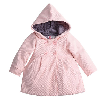 2017 fashion baby coats baby jacket autumn and spring cotton lining