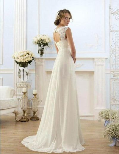 2017 Modest Maternity Wedding Dress for Pregnant Bride Gowns Cap ...