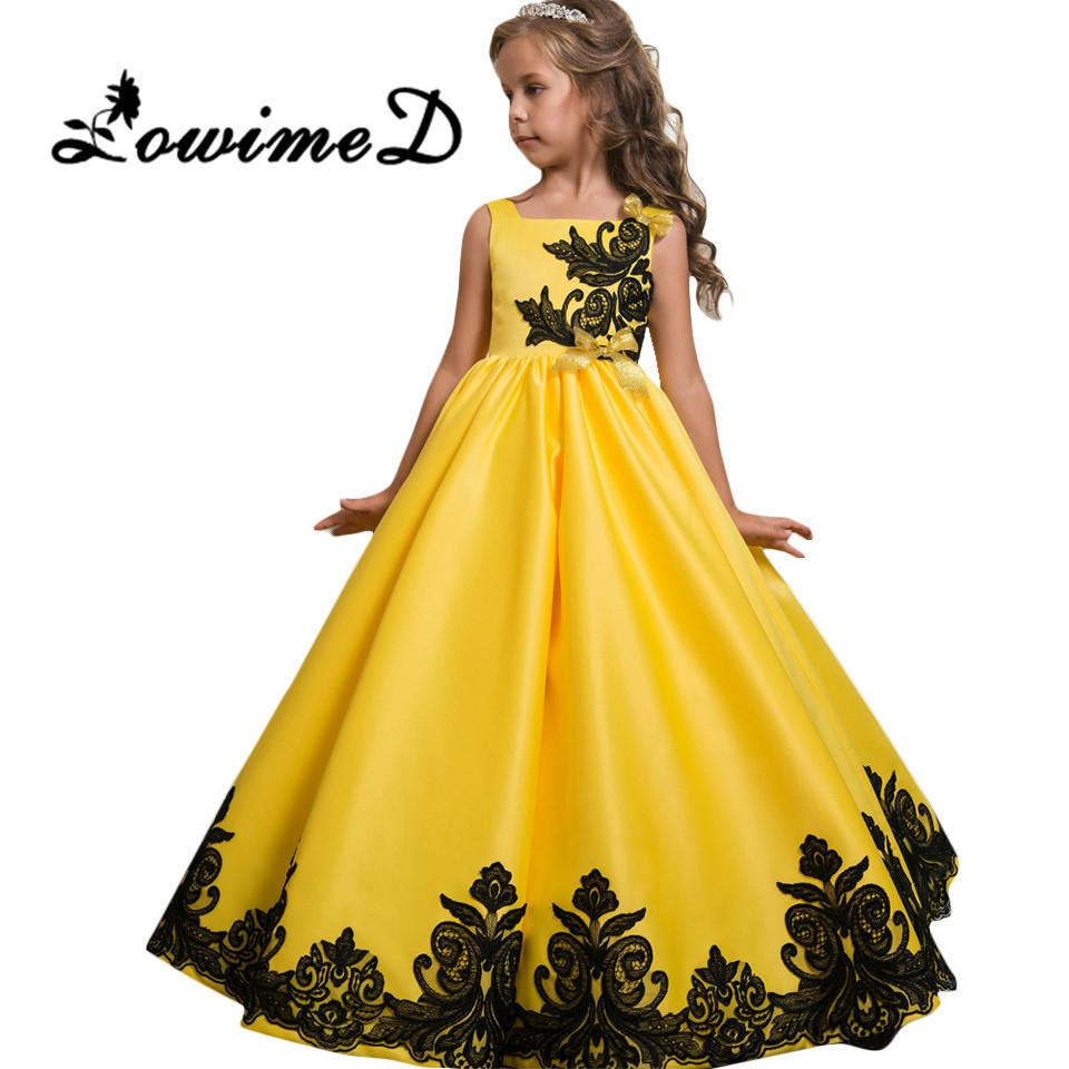 2017 New First Communion Dresses For Girls Pageant Birthday Dress