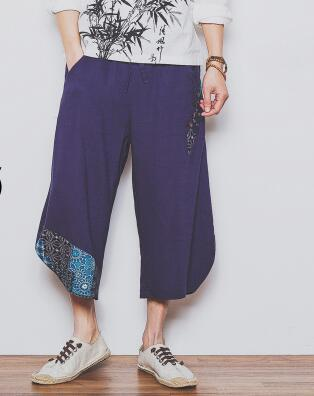 2017 autumn oversize Casual Travel Harem Pants Fluid Low drop Crotch Bloomers Indian Nepal Baggy Trousers for men Pants highsunny Store- upcube