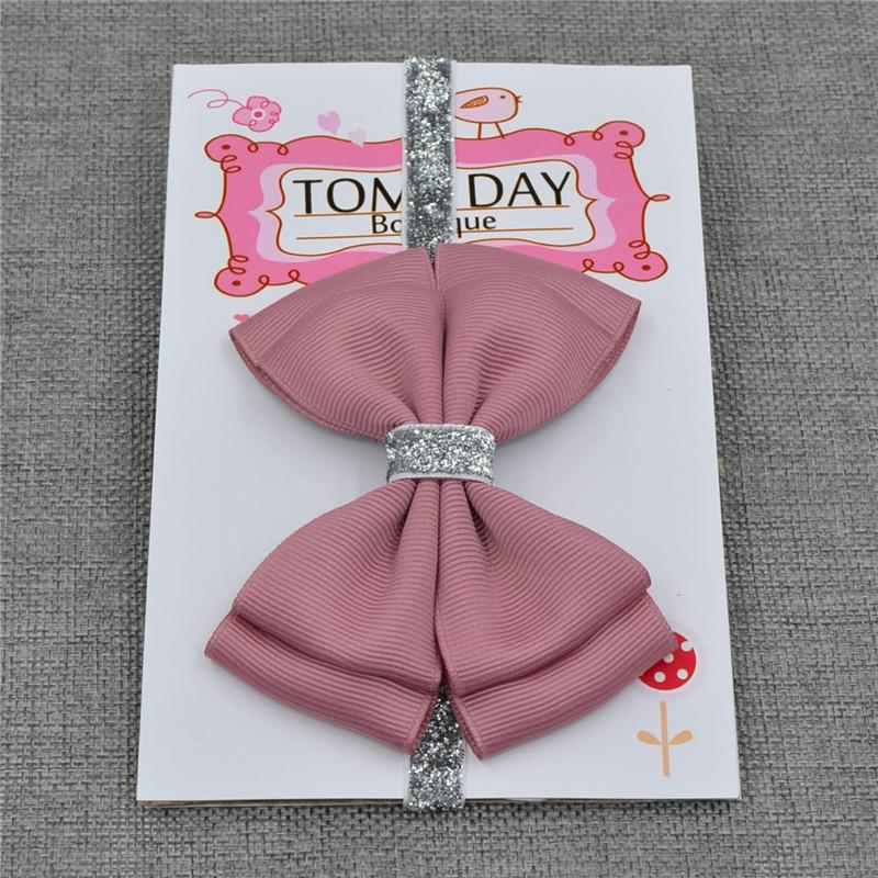 Obliging Korea Ribbon Bunny Hair Accessories For Girls Hair Bands Rabbit Ears Hairband Flower Crown Headbands Hair Bows Excellent In Quality