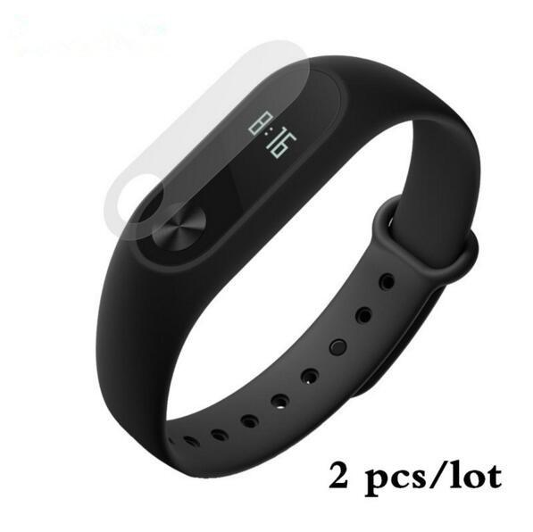 2pcs Xiaomi Mi band 2 Screen Protector Ultra thin HD Film Smartband Anti Scratch For Miband 2 Smart Bracelet Wrsitband Accessory Smart Wristbands ZhouZhou' Store- upcube