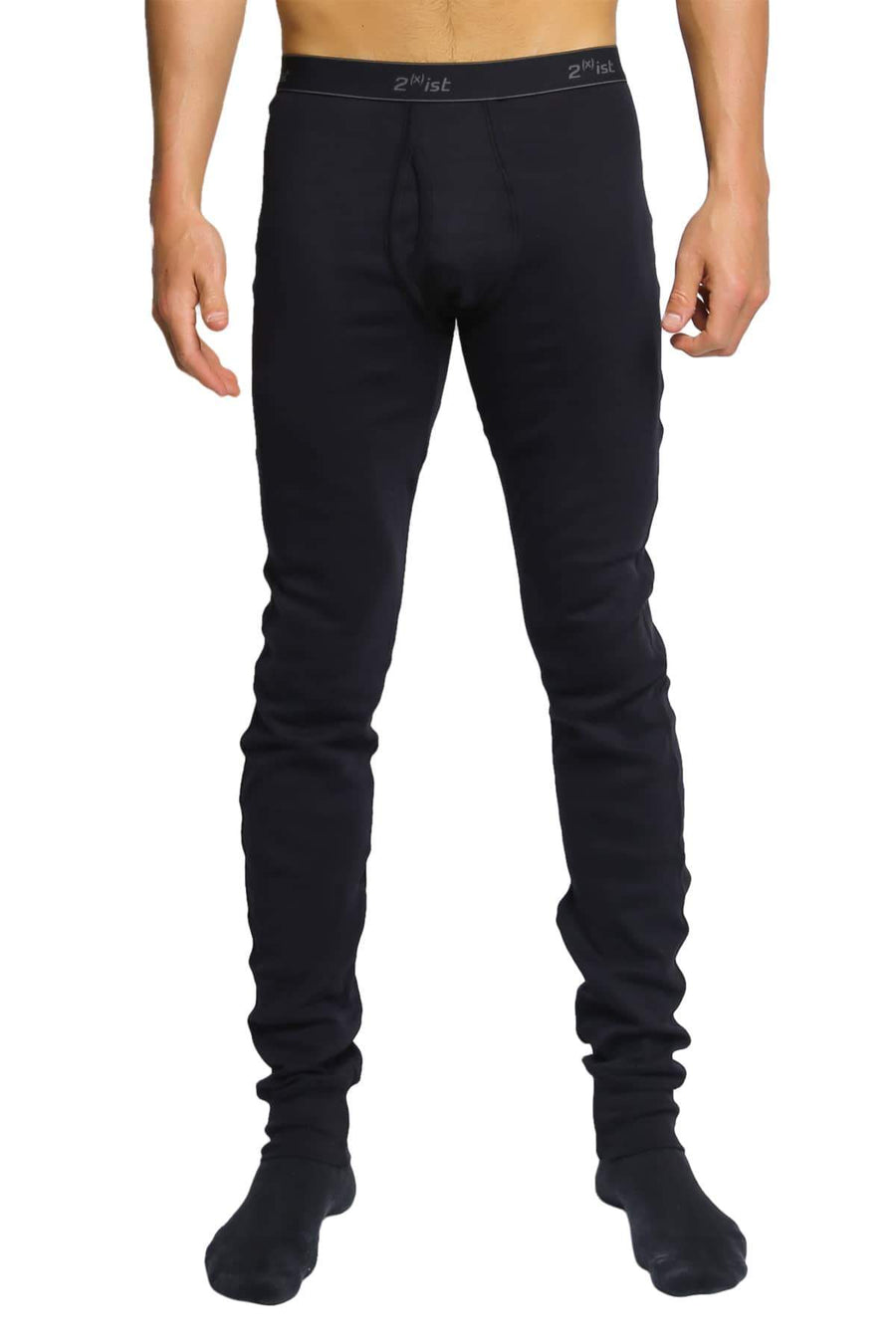 Long Underwear - 2(X)IST Black Essential Long Underwear -   jetcube