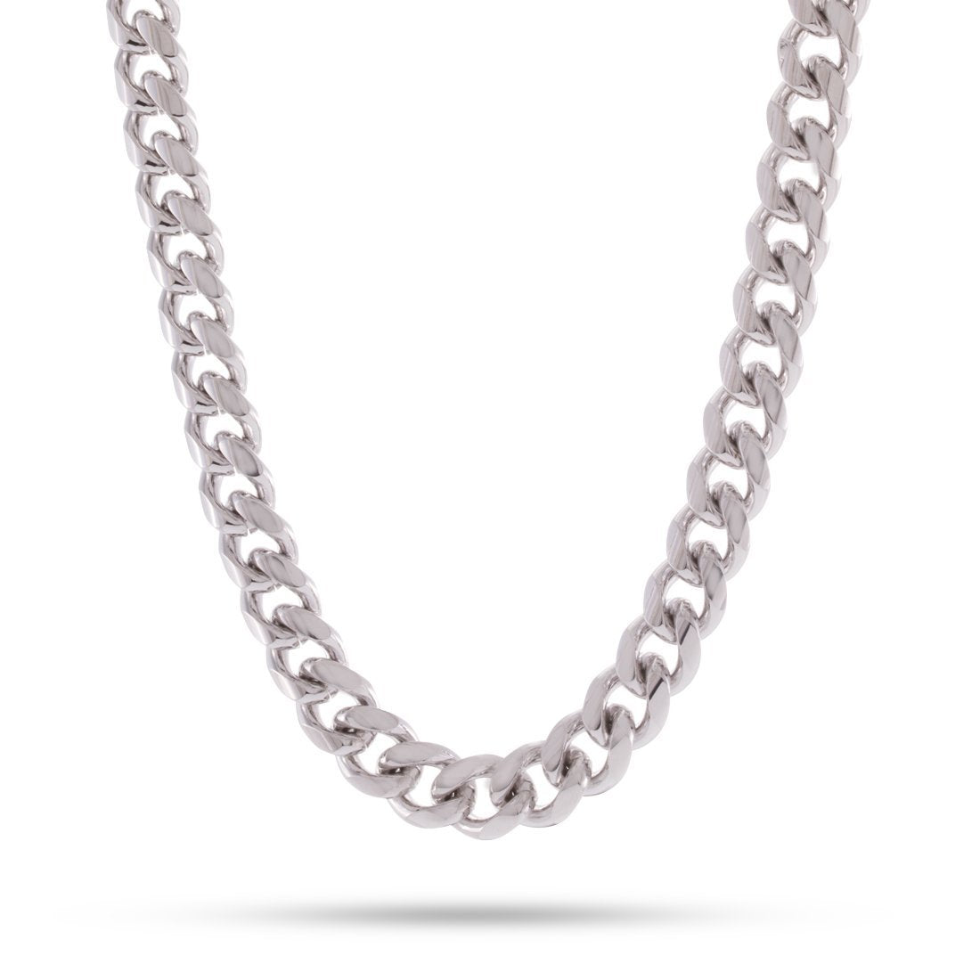 Chains - 10mm, Stainless Steel Miami Cuban Curb Chain -   jetcube