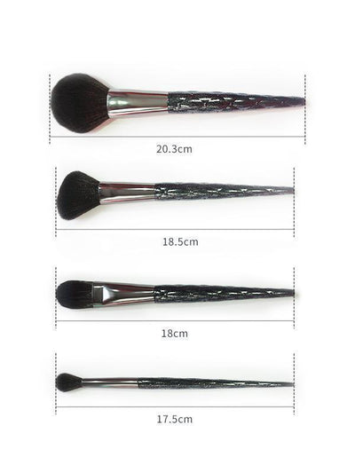 7Pcs Professional Makeup Brush Set with Bag