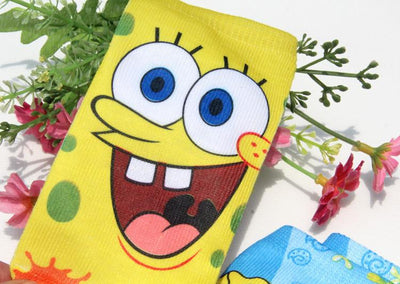 Socks - * 4pairs/lot New cotton children men and women cartoon novelty socks boy kids girl  SpongeBob 3D printed Brand ankle socks -   jetcube