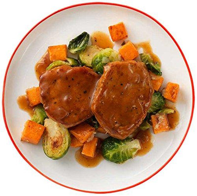 Tyson Tastemakers, Apple-Cider Glazed Pork Medallions, Serves 2