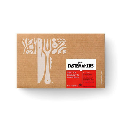 Tyson Tastemakers, Espanola Steak Tips with Patatas Bravas Meal Kit, Serves 2