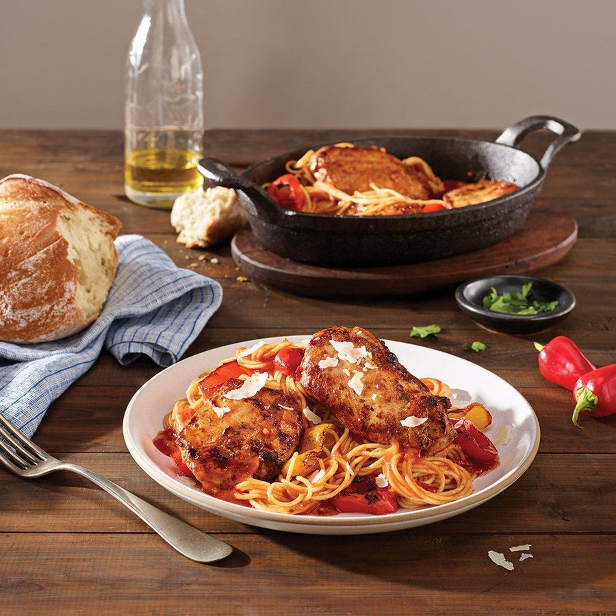 Tyson Tastemakers, Tomato Braised Chicken Cacciatore, Serves 2