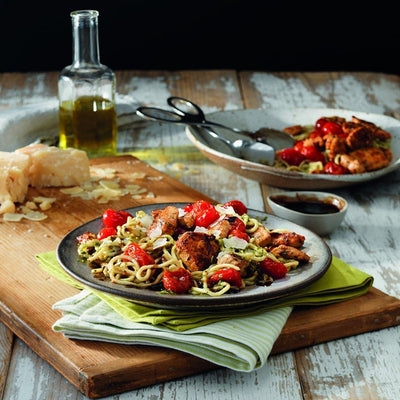 Tyson Tastemakers, Bruschetta Chicken with Balsamic Basil Pasta Meal Kit, Serves 2