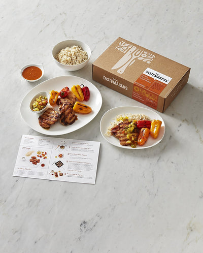 Tyson Tastemakers, Piri Piri Citrus-Chili Grilled Chicken Meal Kit, Serves 2
