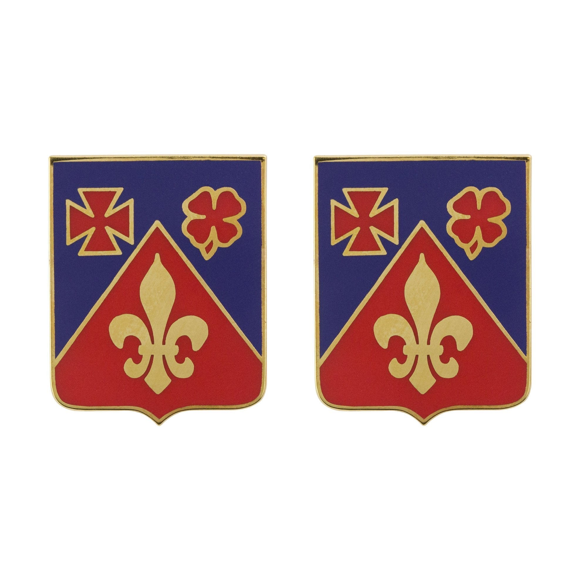 Army Unit Crests - 106th Field Artillery Regiment Unit Crest (No Motto) -   jetcube