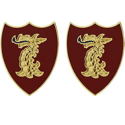 Army Unit Crests - 114th Field Artillery Regiment Unit Crest (No Motto) -   jetcube