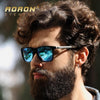 AORON Brand Original Package Polarized Sunglasses Men's Classic Design Goggles Coating Lens Women Fashion Leisure Shades Glasses Sunglasses Aoronbrand- upcube