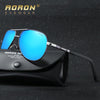 AORON Brand Polarized Sunglasses Men's Classic Outdoors Goggles Women's Leisure Designer Glasses Fashion Unisex Eyewear 8725 Sunglasses Aoronbrand- upcube