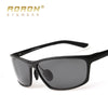AORON Fashion Aluminum Magnesium Alloy Frame Design Polarized Sunglasses Men's Day And Night Glasses Night Vision Goggles Sunglasses Aoronbrand- upcube