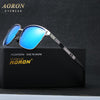 AORON mens brand polarized sunglasses men's high-grade UV400 goggles leisure design eyewear fashion glasses oculos de sol A378 Sunglasses Aoronbrand- upcube