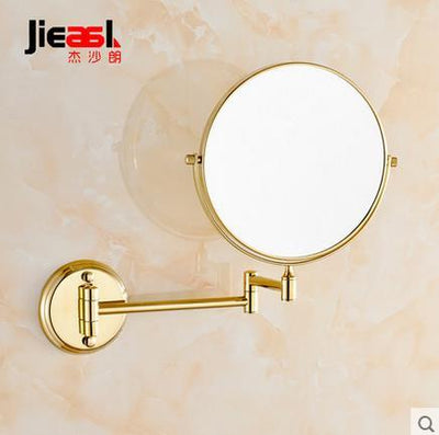 Antique Bronze Copper Elegant 8 Inch Bathroom Mirror Magnifier Beauty Bathroom Mirror Bathroom Hardware Set Wall Mount Outdoor Furniture ORUIHOME Store- upcube