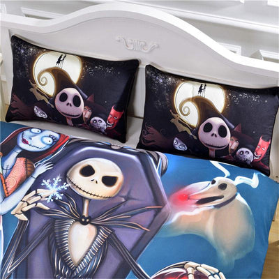 Twin Christmas Bedding Sets.Beddingoutlet Nightmare Before Christmas Bedding Set Qualified Bedclothes Unique Design No Fading Duvet Cover Twin Full Queen