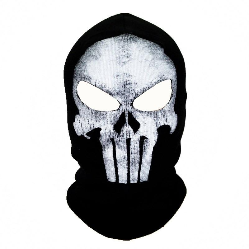 Black Punisher Mask Balaclava Beanies Hats Men Ghost Skull Full Face Warmly Mask Hood Beanie Ggorros Hombre Casquette Bbalaclava Skullies & Beanies dashiki Store- upcube