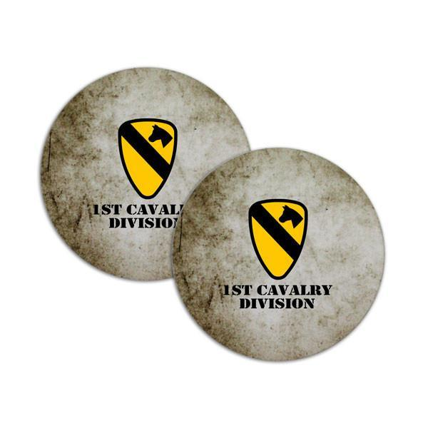 coasters - 1st Cavalry Division Coasters -   jetcube