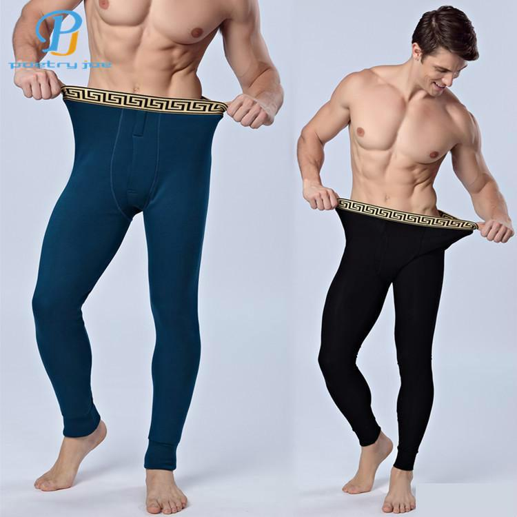 Chenke 365 New Men's Cashmere And Cotton Trousers Thick Warm Warm Leggings Cotton Trousers Long Underwear Factory Wholesale