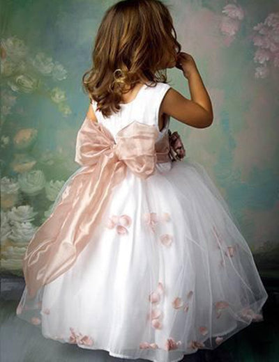 Don\'s Bridal Ball Gown Girls Gowns Flower Girl Dress\\baby Party ...