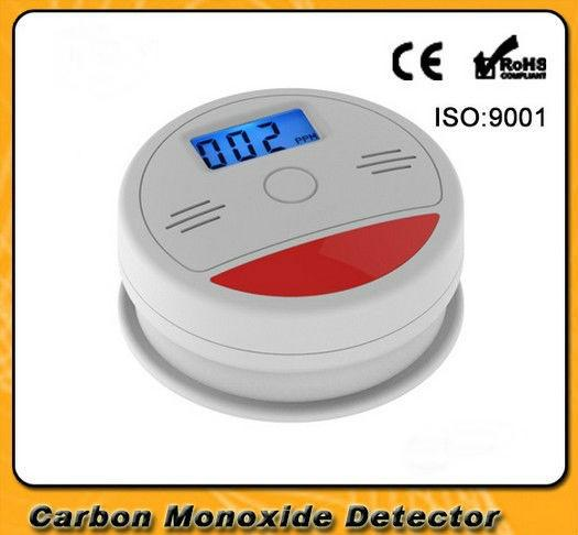 FDL LCD Independent CO Gas Sensor Carbon Monoxide Poisoning Alarm Detector Wireless Poisonous Gas Leak Detector CO Detector