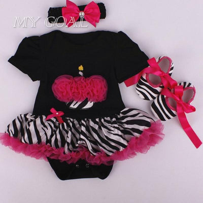 27abcbcec Fashion Christmas Infant Girl Rompers Dress Baby Girls Clothes Sets 3pcs  Newborn Cotton Jumpsuit Clothes