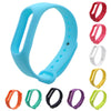 Fashion Durable Replacement Wristband TPU Wrist Strap For Xiaomi Mi Band 2 Smart Bracelet 10 Colors for Choice