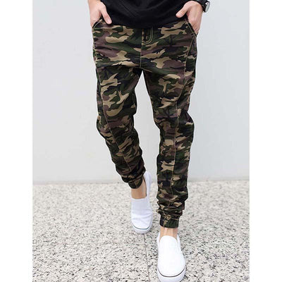 db38e245 Fashion Mens Joggers Pants Military Army Green Camouflage Brand Men Hip Hop  Pants Harem Jeans Loose