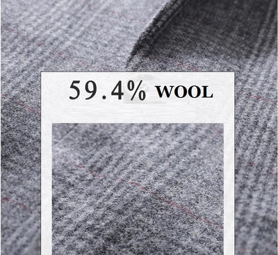 Batmo 2020 new arrival high quality wool casual plaid blazer men,men's suits jackets,casual jackets men plus-size M-10XL   x28