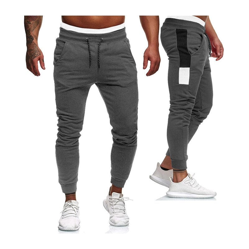 men full length joggers pants Autumn And Winter Fleece keep warm casual ropa hombre sweatpants Men's sport fitness trousers