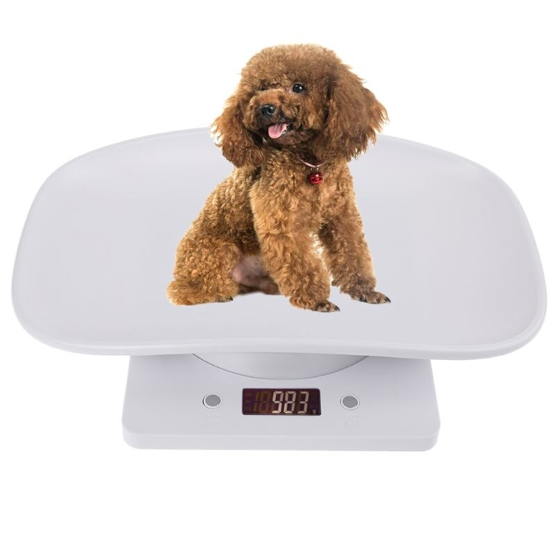 1g-10kg Pet Dog Cat Animal Scale Digital Baby Infant Weight Scale (kg/oz/lb) LCD