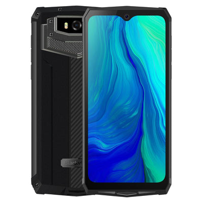 Blackview BV9100 6.3'' Smartphone 4GB 64GB FHD+ 13000mAh IP68 Rugged Helio P35 Octa Core Android9.0 Mobile Phone 30W Fast Charge