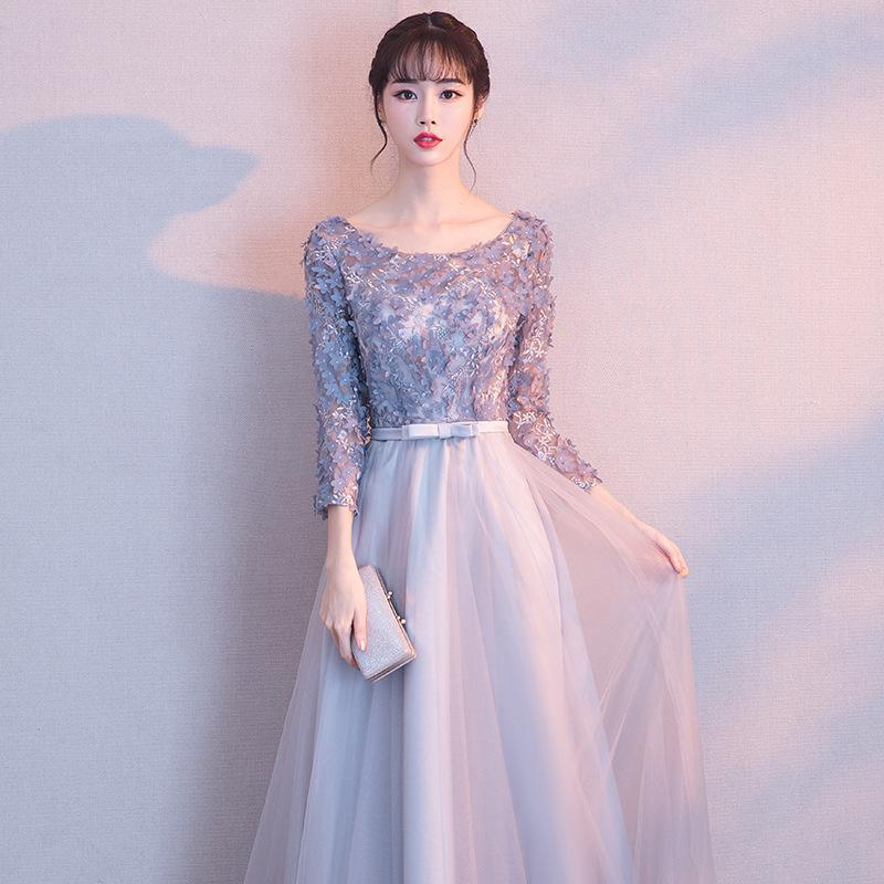It S Yiiya 2018 New Fashion Designer Prom Gown Simple Lace Up Flower P Jetcube