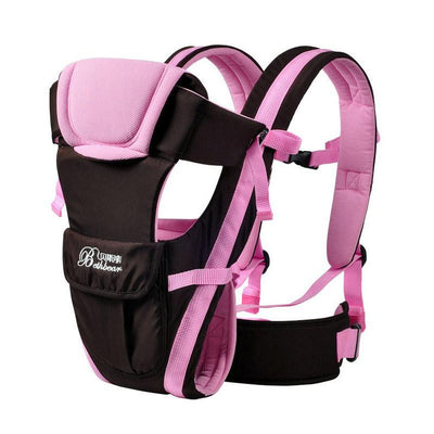 - 0-24M Breathable Multifunctional Front Facing Baby Carrier Adjustable Newborn Sling Portable Backpack Pouch kid carriage wrap - 2 / OneSize  jetcube