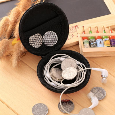 Multifunctional Earphone Bag Portable Earbuds Storage Bags Earphones Accessories Headset Line Boxes Case for Earphones MP3 Cable