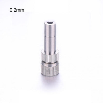 0.2mm/0.3mm/0.5mm/0.8mm 1Pc Low-pressure Atomizing Misting Nozzle Spray Injector Atomization Head Atomizers  UpCube- upcube