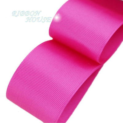 - (5 meters/lot) 40mm Rose Red Grosgrain Ribbon Wholesale gift wrap Christmas decoration ribbons -   jetcube