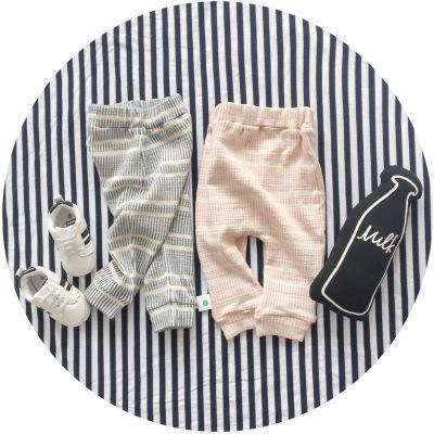 - 0-2 years 2017 Baby Pants Solid Color Cotton Children Pants Autumn Winter Pink Grey Children pants -   jetcube