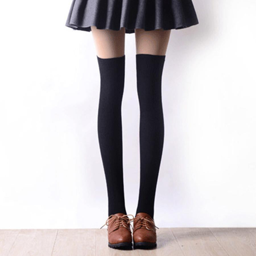 853ff1f212b 2016 New 3 Colors Fashion Women s Socks Sexy Warm Thigh High Over The Knee  Socks Long