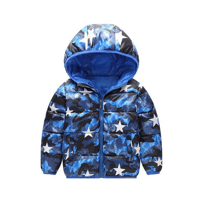 - 2-6 Years Dinosaur Pattern Girls Boys Coats 2017 Outerwear & Coats Fashion Boys Parkas Kids Clothes Warm Down Coats for Boys - 8 / 24M  jetcube